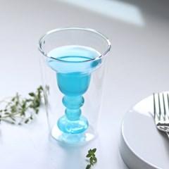 비토시홈 위스키잔 칵테일잔 언더락 홈카페 이중 유리컵