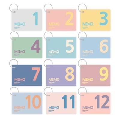 더오픈하우스 12개 링단어장세트-23-5990