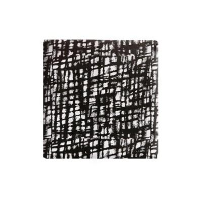 블랙 페인팅 포장지 (2장)