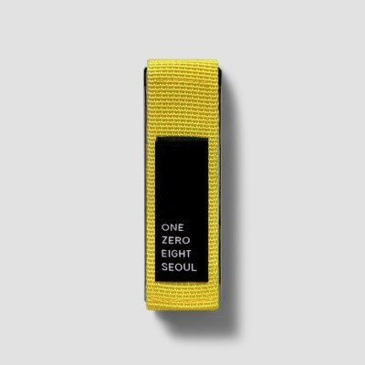 행온스트랩(25mm)_레몬옐로우