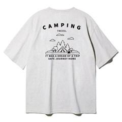 앨빈클로 캠핑 아트웍 오버핏 반팔티셔츠 AST3694 (3COLOR)
