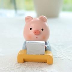 핑크 돼지 노트북