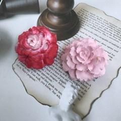 (핸드메이드/차량용) 예쁜꽃 석고 소품 인테리어 선물