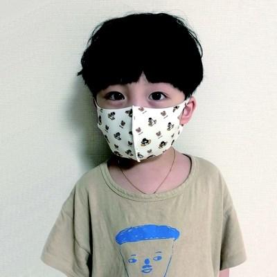 핑구 아동용 구리 항균99% 2개 세트 빨아 쓰는 마스크(3세-6세)