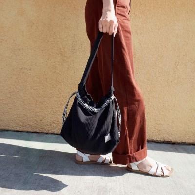 Pouch Bag (BLACK CHECK)