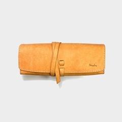 [주문제작]펜슬케이스 필통 Natural - Pueblo Leather (무료각인)
