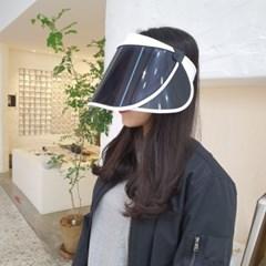 무지 기본 심플 자외선차단 데일리 패션 썬캡 모자