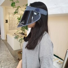 자외선차단 기본 심플 챙넓은 데일리 패션 썬캡 모자
