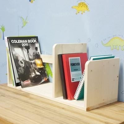 심플리 원목 책꽂이 WDA02 원목 책칸막이 책갈피 책장
