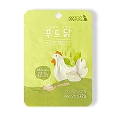 도그퓨어 푸드닭 차전자피&혼합유산균 (22g) 국내산 닭안심 100%