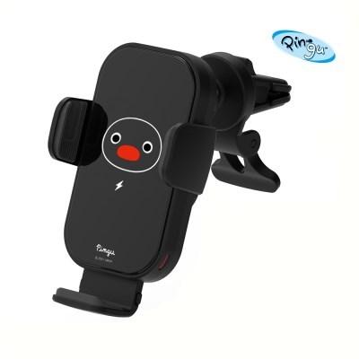 핑구 정품 LED 차량용 핸드폰/휴대폰 고속 무선 충전 거치대