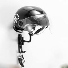 PH 알루미늄 자전거 오토바이 킥보드 헬멧 모자 스탠드 걸이olov