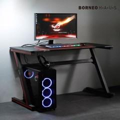 엘리브 네르 PC 게이밍 컴퓨터 책상 1200 Z형 ch058