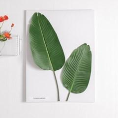 그로우바나나잎캔버스set 80cmP 조화 인테리어 FMFUFT