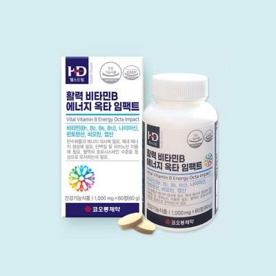 [코오롱제약] 활력비타민B 에너지 옥타 임팩트 1box(60정)