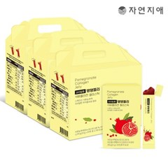 자연지애 유기농 석류 탱탱300 젤리스틱 3세트(180포)_(3422476)
