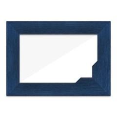 A4 사진액자 (블루) 상장포토웨딩인테리어벽걸이