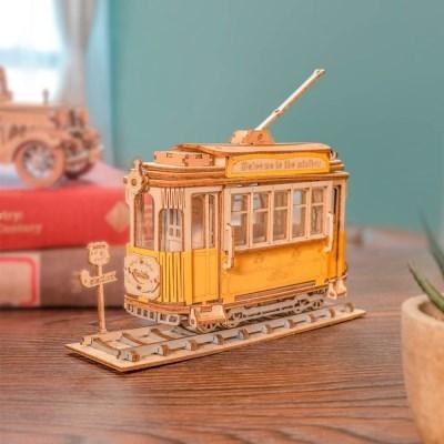 TG505 트램 (TRAMCAR) D.I.Y wooden [영문판]