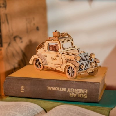 TG504 빈티지 자동차(VINTAGE CAR) D.I.Y wooden [영문판]