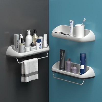 무타공 벽걸이 욕실 선반 화장실 수납 세면대 정리대