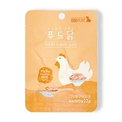 도그퓨어 푸드닭 오리지널 (22g) 국내산 닭안심 100%