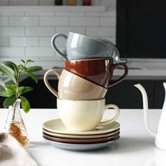 에크렌 골드 림(rim) 노블 커피잔1인세트 (4colors)_(2225156)