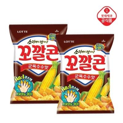 꼬깔콘 군옥수수맛72gx8개외 5종