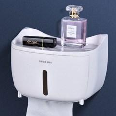 비진 캣츠포인트 선반 겸용 욕실 원터치 휴지케이스_(3452999)
