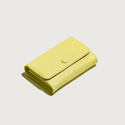 Classic Card holder / Lemon