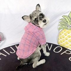강아지 여름옷 티셔츠 시원한후드티 바람막이