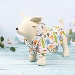강아지 쿨링후드 여름후드 바람막이 애견여름옷