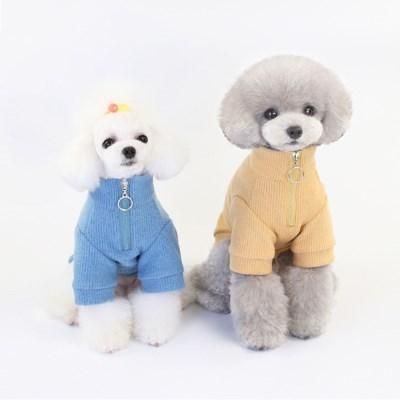강아지 아노락 티셔츠 니트 강아지옷