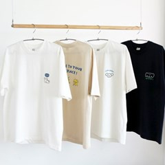 Romane 프린팅 반팔 티셔츠