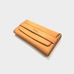 이태리 최고급가죽 가죽 카드/명함케이스 Natural (무료각인)