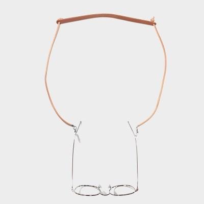 [주문제작]글라스코드 안경줄 Tan - Buttero Leather (무료각인)