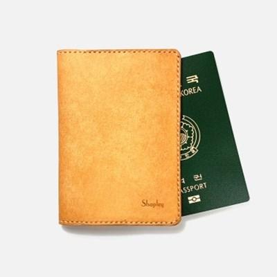 [주문제작]여권케이스 Natural - Pueblo Leather (무료각인)