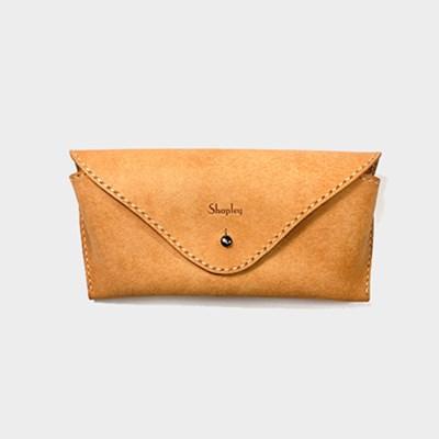 [주문제작]안경케이스 Natural - Pueblo Leather (무료각인)