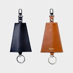 [주문제작]트라이앵글 키체인 Buttero Leather (무료각인)