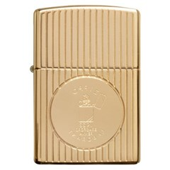 ZIPPO 라이터 49631 Armor® Gold Plated Deep Carve/ L_(2777307)