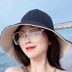 여성여름모자 버킷햇 썬캡 벙거지 햇빛차단 양면썬캡