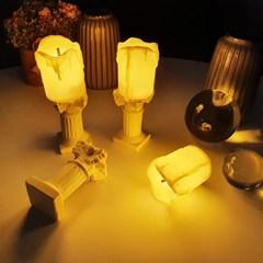이벤트 캔들 LED 양초 촛대 세트 포인트 소품 인테리어 무드등