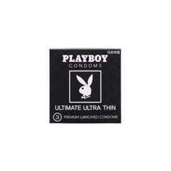 [플레이보이] 극초박형 콘돔 3P