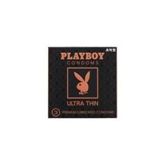 [플레이보이] 초박형 콘돔 3P