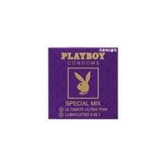 [플레이보이] 스페셜믹스 콘돔 4P