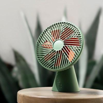 소싱 포레스트 무선 선풍기 3color 탁상용 책상 미니 디자인 선풍기