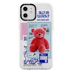 아이폰XS 스타일 클리어 심플 커버 젤리 케이스 P598_(4111060)