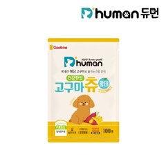 [듀먼] 건강한입 해남 고구마츄 황태 100g X 1팩