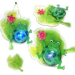 만들기 개구리 조명등 (5set)
