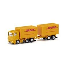 [시쿠] DHL 트럭 & 트레일러_(301872331)