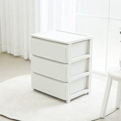 리빙앤트리 홈스타일 DIY 서랍장 3단 L 화이트